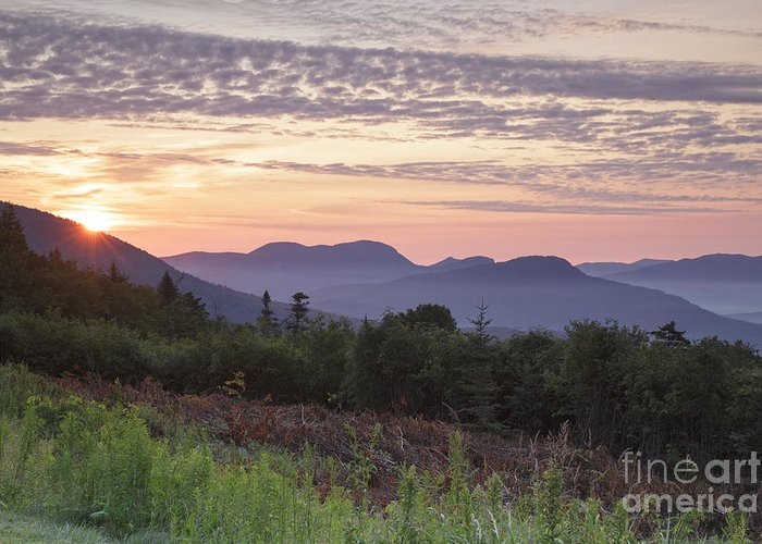 C.l. Graham Wangan Grounds Greeting Card featuring the photograph Kancamagus Highway - White Mountains New Hampshire USA by Erin Paul Donovan