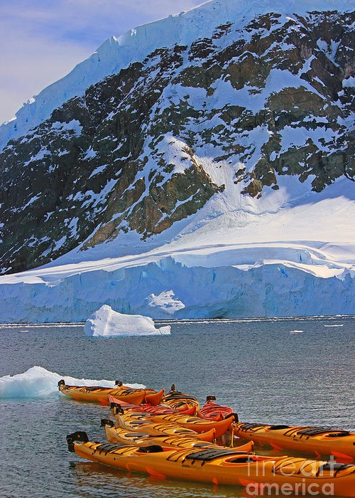 Kayak Greeting Card featuring the photograph Kayaker's Dream by Brittany Dolan