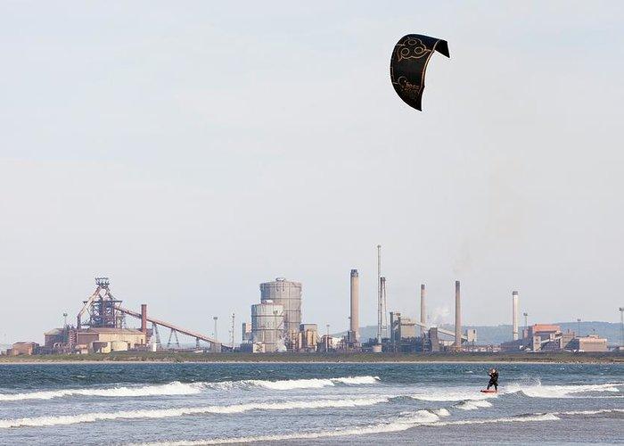 Kite Surfer Greeting Cards