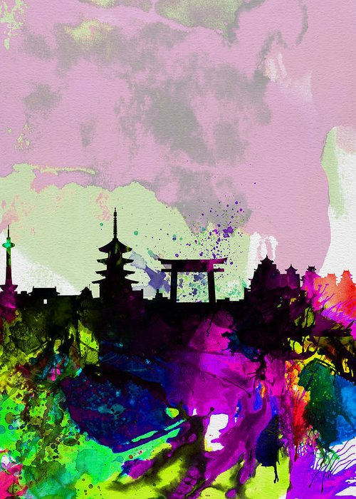 Kyoto Digital Art Greeting Cards