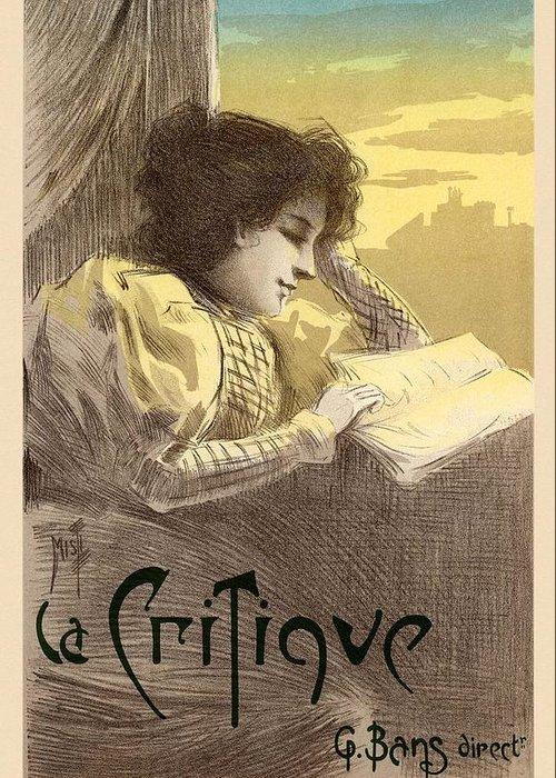 Critique Digital Art Greeting Cards
