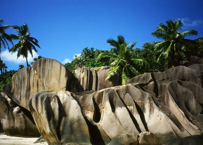 Ocean Greeting Card featuring the photograph La Digue Island - Seychelles by Juergen Weiss