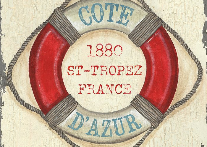 St Tropez Greeting Cards