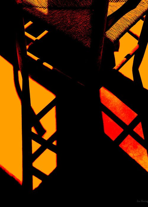 Ladderback Chair Digital Art Greeting Cards