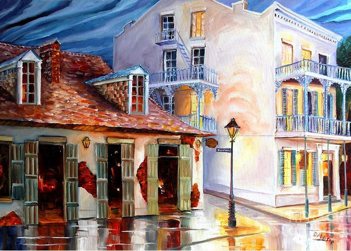 New Orleans House Greeting Cards