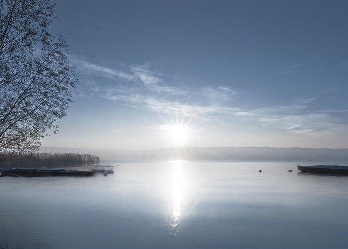 Maggiore Greeting Card featuring the photograph Lake Maggiore by Luca Battistella