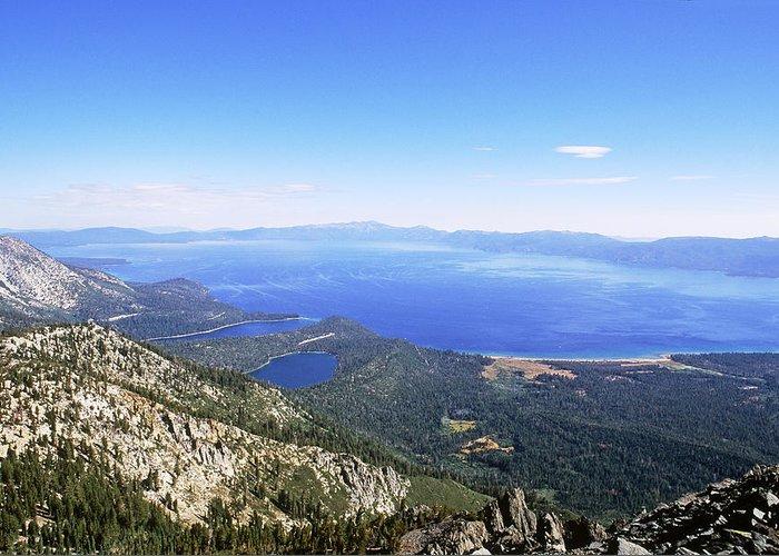 California Greeting Card featuring the photograph Lake Tahoe, California by David Weintraub