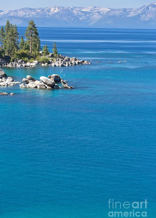 America Greeting Card featuring the photograph Lake Tahoe by Mariusz Blach