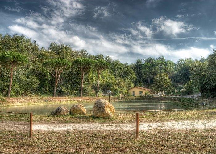 Lake Greeting Card featuring the photograph Lake View by Leonardo Marangi