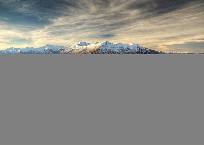 Tranquility Greeting Card featuring the photograph Landscape Of Wanaka by Joao Inacio