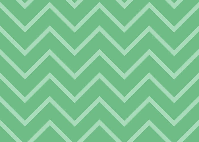 Chevron Greeting Card featuring the photograph Large Mint Chevron by P S