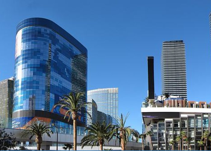 Las Greeting Card featuring the photograph Las Vegas - Cosmopolitan Casino - 12121 by DC Photographer