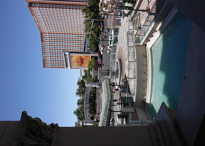 Las Greeting Card featuring the photograph Las Vegas - Treasure Island - 12123 by DC Photographer