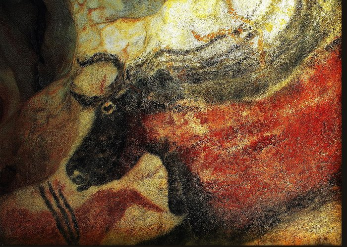 Lascaux Ii Greeting Card featuring the photograph Lascaux II Number 2 - Horizontal by Jacqueline M Lewis