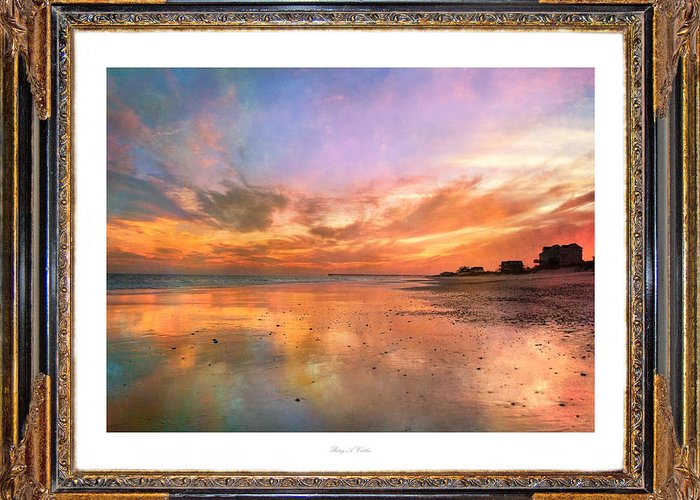 Topsail Greeting Card featuring the photograph Lasting Moments by Betsy C Knapp
