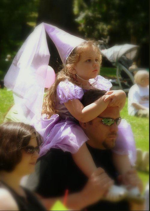 Cindy Greeting Card featuring the photograph Lavender Princess by Cindy Wright