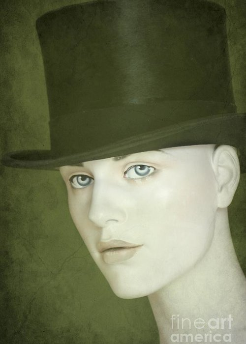 Hat Greeting Card featuring the photograph Le Chapeau by Sophie Vigneault