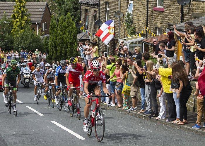 Tour De France Greeting Card featuring the photograph Le Tour De France 2014 - 4 by Chris Smith