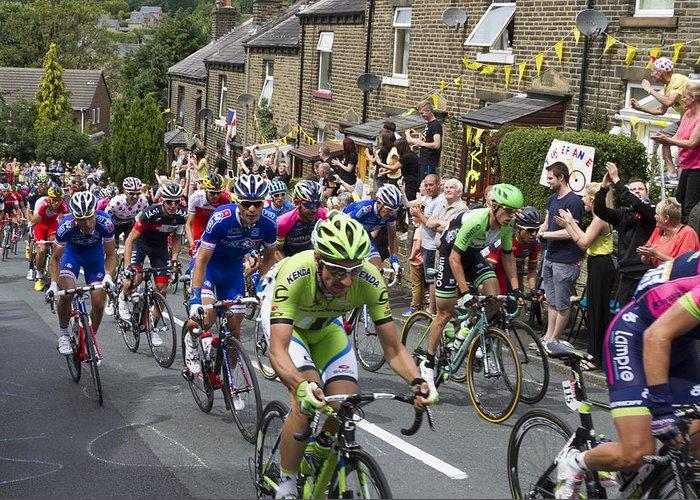 Tour De France Greeting Card featuring the photograph Le Tour De France 2014 - 7 by Chris Smith