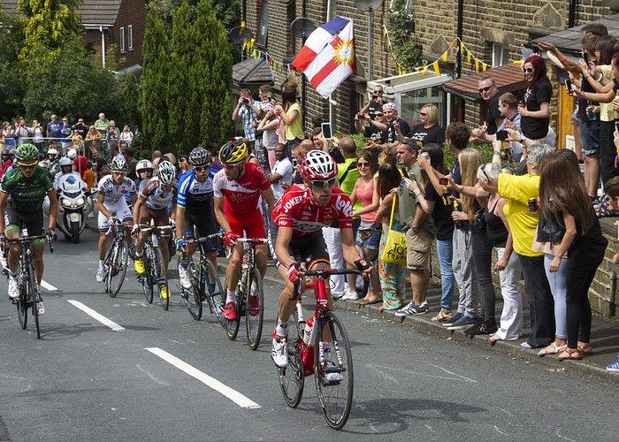 Tour De France Greeting Card featuring the photograph Le Tour De France 2014 - 9 by Chris Smith