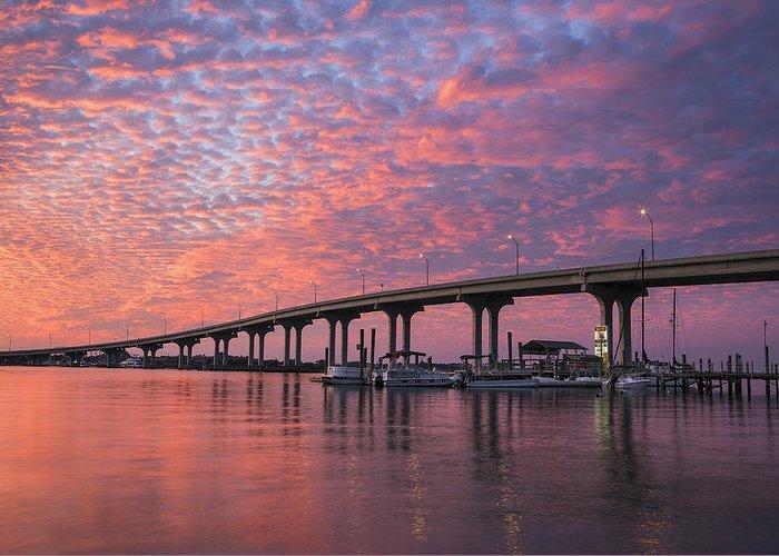 Florida Bridge Greeting Cards