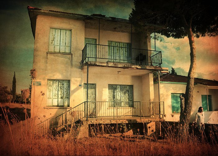 Old Greeting Card featuring the photograph Leaving Home II by Taylan Apukovska