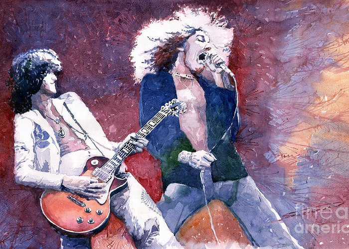 Led Zeppelin Greeting Cards