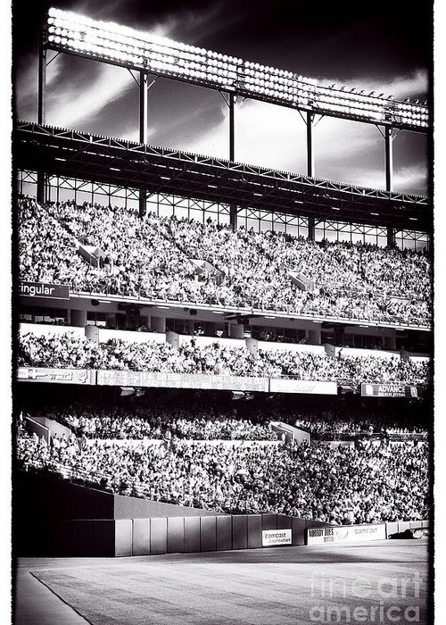Left Field Greeting Card featuring the photograph Left Field by John Rizzuto