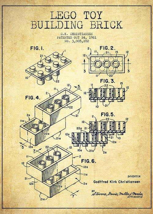 Patent Illustration Greeting Cards
