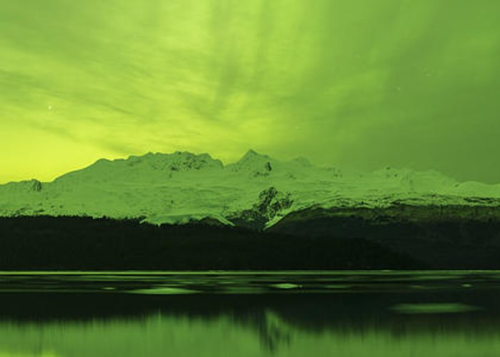 Aurora Greeting Card featuring the photograph Lemon Lime by Ted Raynor