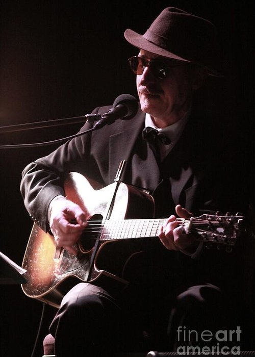 Singer Greeting Card featuring the photograph Leon Redbone by Concert Photos