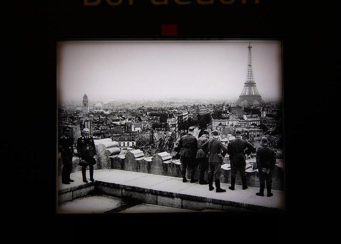 Paris Greeting Card featuring the photograph Les Invalides - Paris France - 011367 by DC Photographer