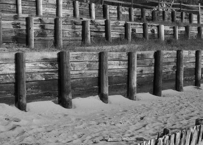 Weathered Wood Greeting Card featuring the photograph Levels by Daralyn Spivey