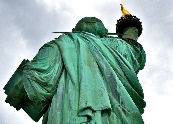Greeting Card featuring the photograph Liberty by Jason Swantek