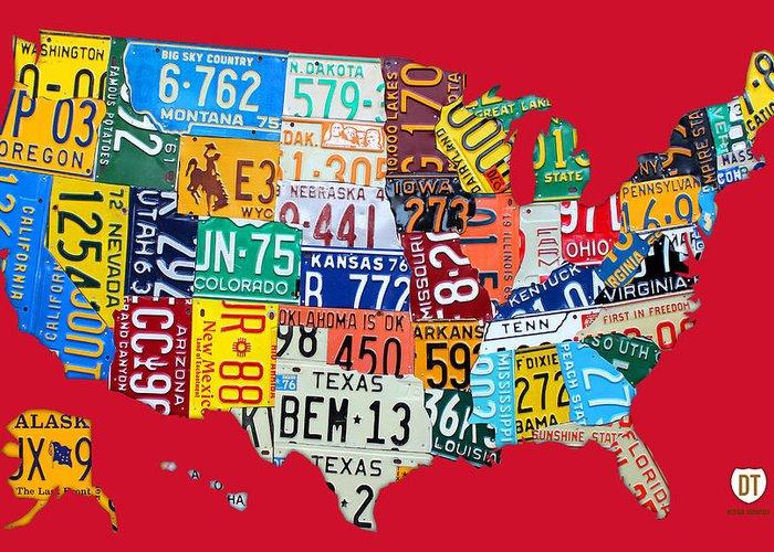 Americas Highway Greeting Cards