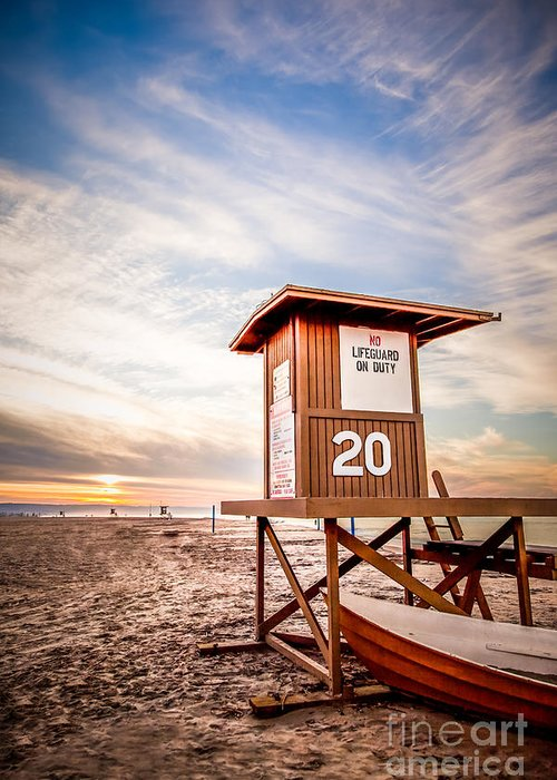 Sand Stand Greeting Cards