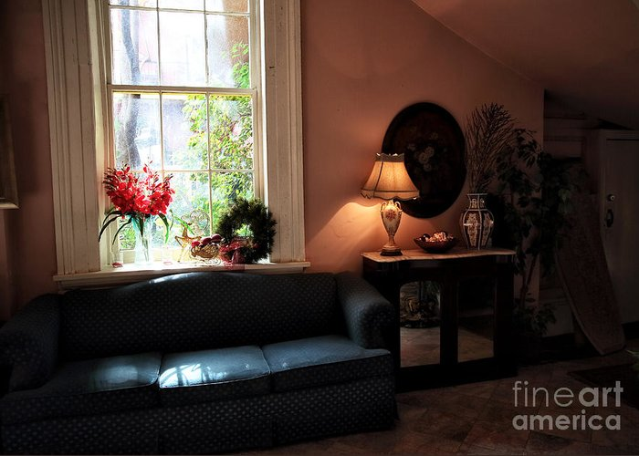 Light By The Window Greeting Card featuring the photograph Light By The Window by John Rizzuto