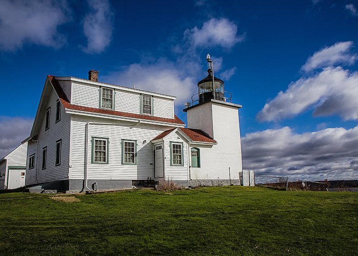 Fort Point Lighthouse Greeting Card featuring the photograph Lighthouse Fever by Robert Clifford