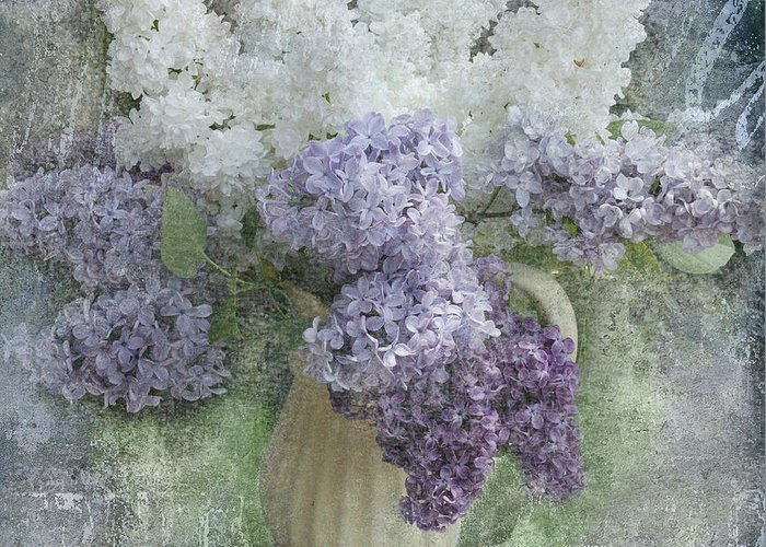 Lilacs Greeting Card featuring the photograph Lilac by Jeff Burgess