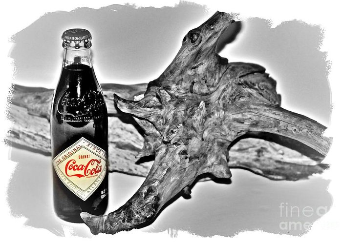 Limited Edition Bottles Greeting Card featuring the photograph Limited Edition Coke - No.1130 by Joe Finney