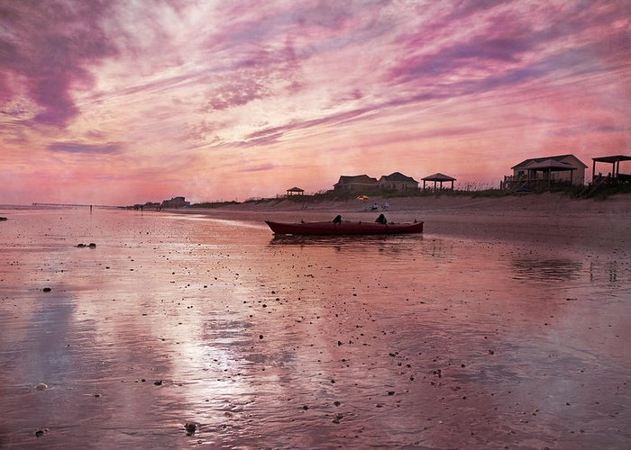 Topsail Greeting Card featuring the photograph Limitless by Betsy Knapp