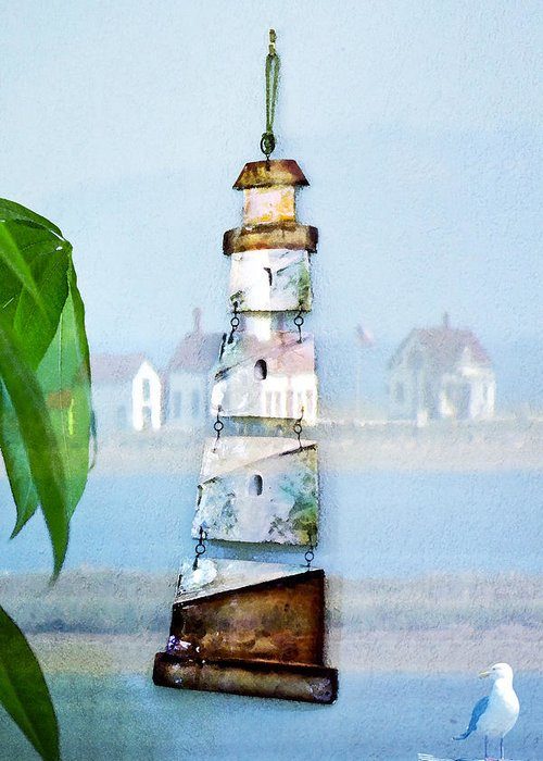 Sea Greeting Card featuring the photograph Living By The Sea - Pacific Ocean by Marie Jamieson