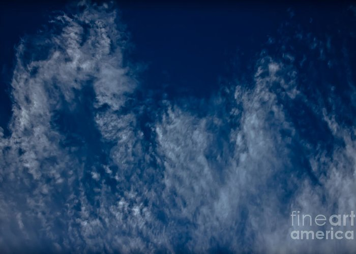 Clouds Greeting Card featuring the photograph Living Sky by Joel Loftus