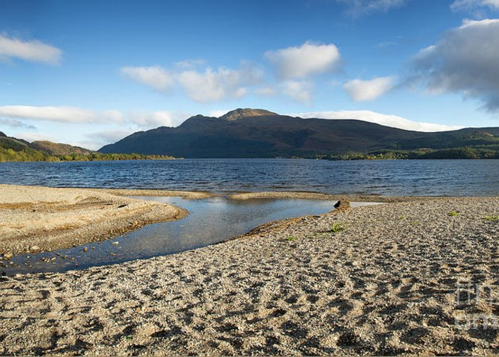 Loch Greeting Card featuring the photograph Loch Lomond Pano by Jane Rix