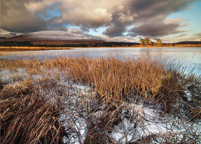 Tranquility Greeting Card featuring the photograph Loch Tulla by Image By Peter Ribbeck