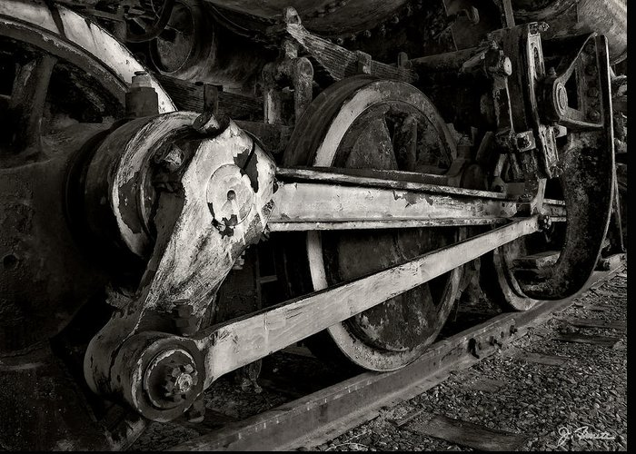 Locomotive Greeting Card featuring the photograph Locomotive No. 2 by Joe Bonita