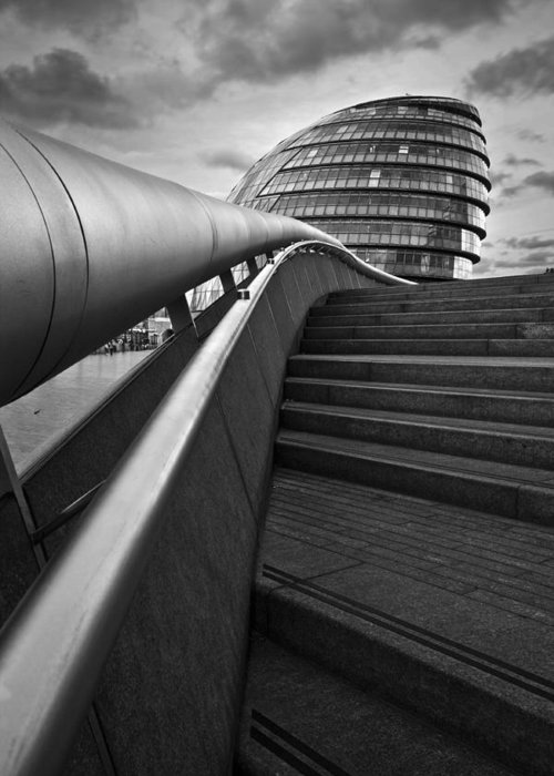 Great Britain Greeting Card featuring the photograph London City Hall. by Milan Gonda