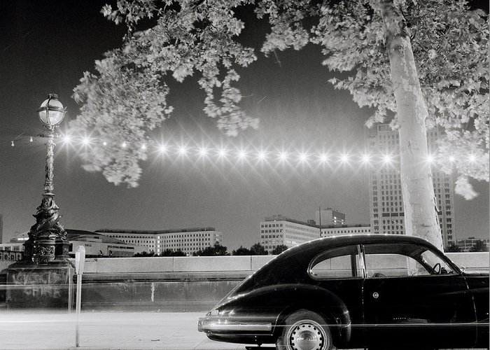 Porsche Greeting Card featuring the photograph Classic London by Shaun Higson