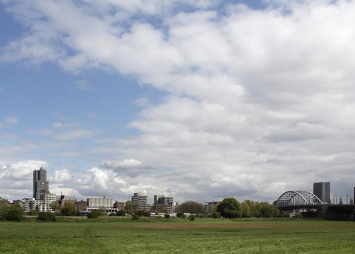 Arnhem Greeting Card featuring the photograph Look At Arnhem by Ronald Jansen