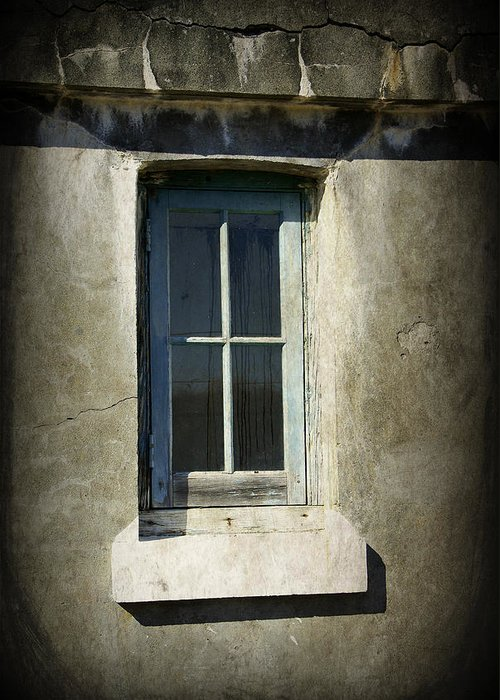 Window Greeting Card featuring the photograph Looking Inwards by Marilyn Wilson